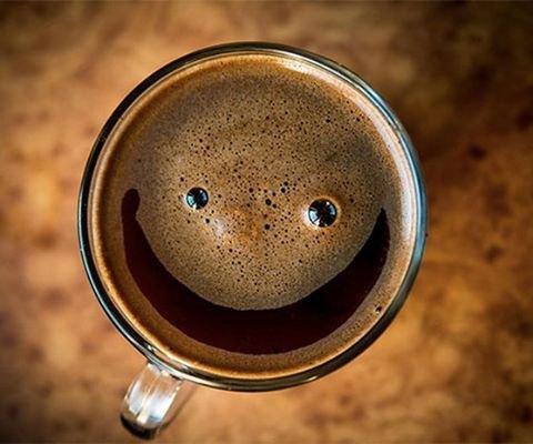 приятный кофе